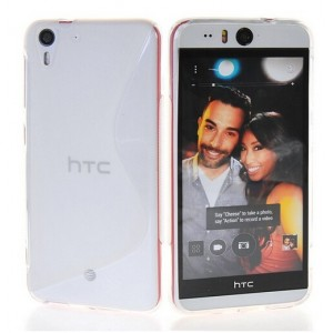 Coque De Protection En Silicone Transparent Pour HTC Desire Eye