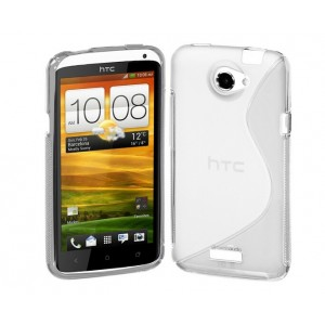 Coque De Protection En Silicone Transparent Pour HTC One X
