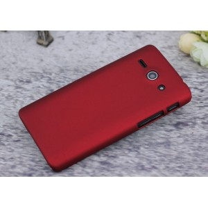 Coque De Protection Rigide Rouge Pour Huawei Ascend Y530