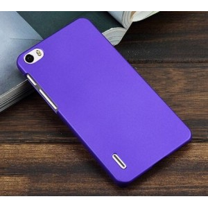 Coque De Protection Rigide Violet Pour Huawei Honor 6 Plus