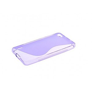 Coque De Protection En Silicone Violet Pour Huawei Honor 6 Plus