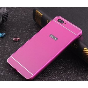 Protection Bumper Rose Pour Huawei P8 Lite