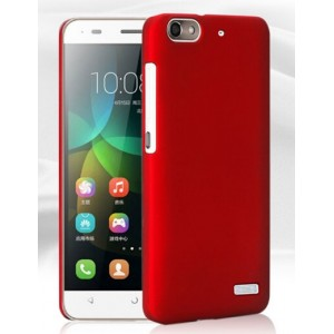 Coque De Protection Rigide Rouge Pour Huawei Honor 4c