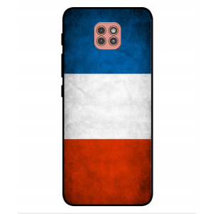Coque De Protection Drapeau De La France Pour Motorola Moto G9 Play