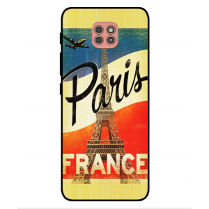 Coque De Protection Paris Vintage Pour Motorola Moto G9 Play