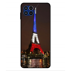 Coque De Protection Tour Eiffel Couleurs France Pour Motorola One 5G
