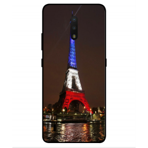 Coque De Protection Tour Eiffel Couleurs France Pour Nokia C2 Tennen