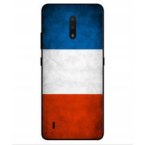 Coque De Protection Drapeau De La France Pour Nokia C2 Tennen