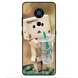 Coque De Protection Amazon Starbucks Pour Nokia C5 Endi
