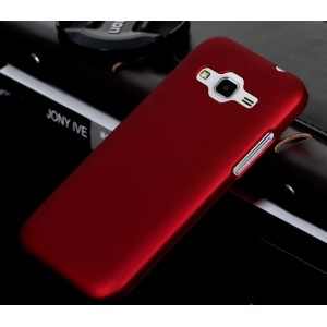 Coque De Protection Rigide Rouge Pour Huawei Ascend Y540