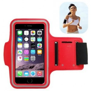 Brassard Sport Pour iPhone 12 Pro Max - Rouge