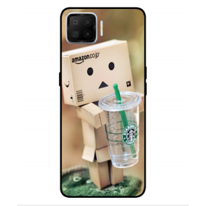 Coque De Protection Amazon Starbucks Pour Oppo Reno 4F