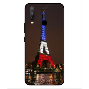 Coque De Protection Tour Eiffel Couleurs France Pour Vivo Y3s