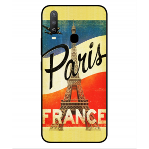 Coque De Protection Paris Vintage Pour Vivo Y3s