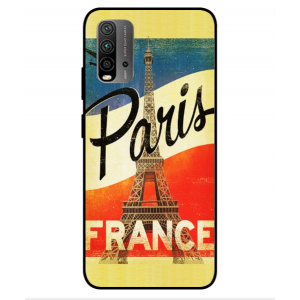 Coque De Protection Paris Vintage Pour Xiaomi Redmi 9T