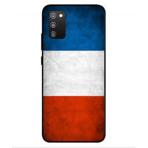 Coque De Protection Drapeau De La France Pour Samsung Galaxy F02s