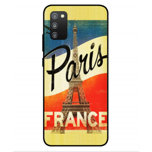 Coque De Protection Paris Vintage Pour Samsung Galaxy F02s