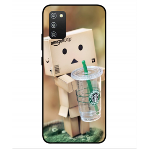Coque De Protection Amazon Starbucks Pour Samsung Galaxy F02s