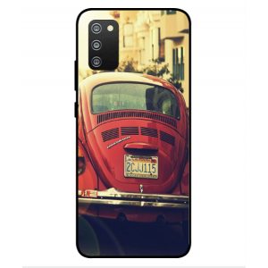 Coque De Protection Voiture Beetle Vintage Samsung Galaxy F02s