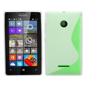 Coque De Protection En Silicone Transparent Pour Microsoft Lumia 435