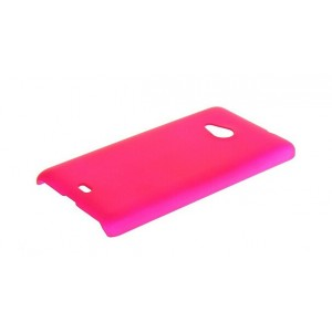 Coque De Protection Rigide Rose Pour Microsoft Lumia 535