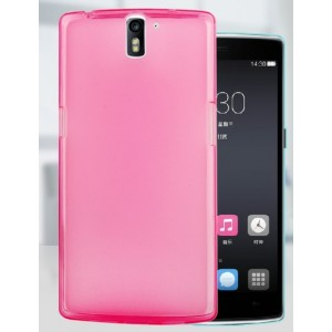 Coque De Protection En Silicone Rose Pour OnePlus One