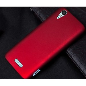 Coque De Protection Rigide Rouge Pour ZTE Grand S Flex