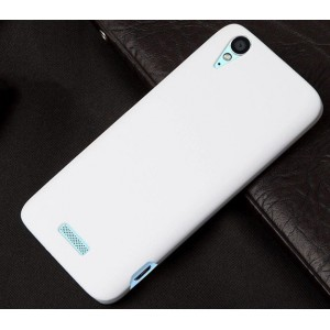 Coque De Protection Rigide Blanc Pour ZTE Grand S Flex