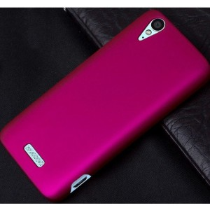 Coque De Protection Rigide Rose Pour ZTE Grand S Flex