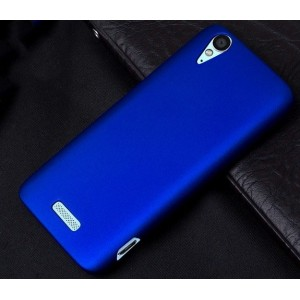 Coque De Protection Rigide Bleu Pour ZTE Grand S Flex