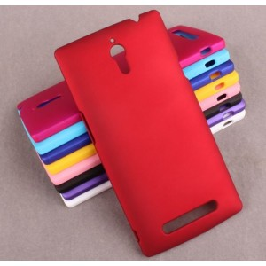 Coque De Protection Rigide Rouge Pour Oppo Find 7