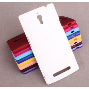 Coque De Protection Rigide Blanc Pour Oppo Find 7