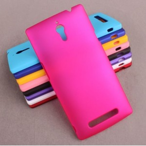 Coque De Protection Rigide Rose Pour Oppo Find 7