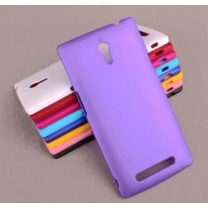 Coque De Protection Rigide Violet Pour Oppo Find 7