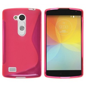 Coque De Protection En Silicone Rose Pour LG L Bello
