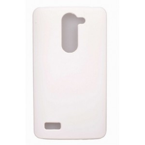 Coque De Protection Rigide Blanc Pour LG L Bello