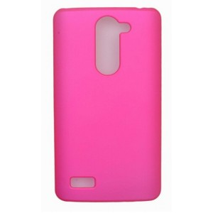 Coque De Protection Rigide Rose Pour LG L Bello