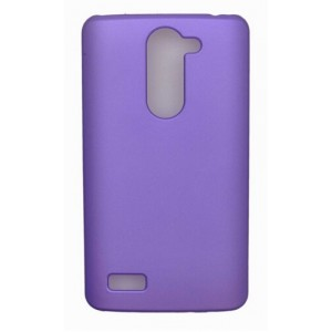 Coque De Protection Rigide Violet Pour LG L Bello