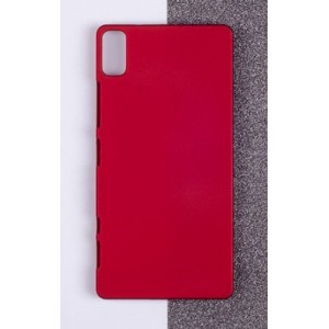 Coque De Protection Rigide Rouge Pour Lenovo Vibe Shot