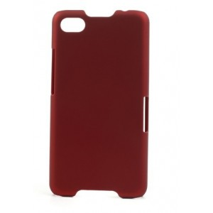 Coque De Protection Rigide Rouge Pour BlackBerry Z30