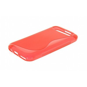 Coque De Protection En Silicone Rouge Pour BlackBerry Classic