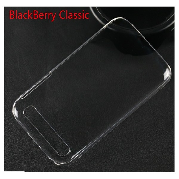 coque protection rigide transparent blackberry classic. Black Bedroom Furniture Sets. Home Design Ideas