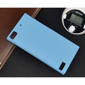 Coque De Protection Rigide Bleu Pour BlackBerry Z3