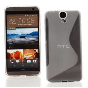 Coque De Protection En Silicone Transparent Pour HTC One E9+
