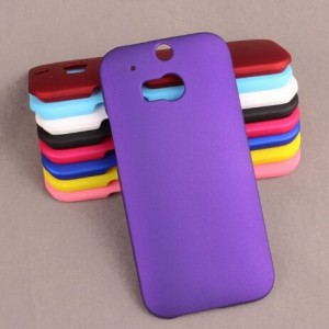 Coque De Protection Rigide Violet Pour HTC One (M8)
