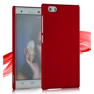 Coque De Protection Rigide Rouge Pour ZTE Star 2