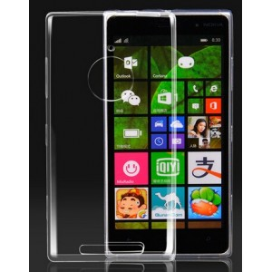 Coque De Protection Rigide Transparent Pour Nokia Lumia 830