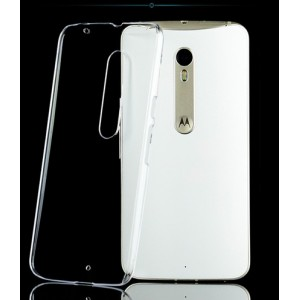 Coque De Protection Rigide Transparent Pour Motorola X Style