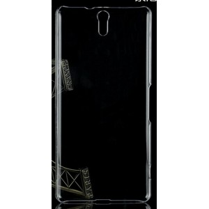 Coque De Protection Rigide Transparent Pour Sony Xperia C5 Ultra