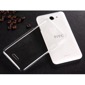 Coque De Protection Rigide Transparent Pour HTC Desire 516
